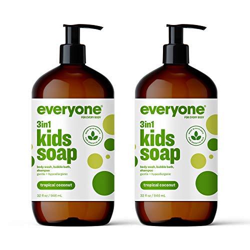 Everyone 3-in-1 Kids Soap, Body Wash, Bubble Bath, Shampoo, 32 Ounce...