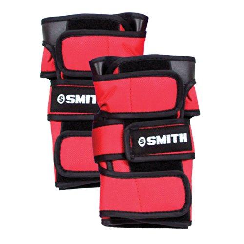 Smith - Arm- & Handgelenkschoner für Skateboarder in rot, Größe M