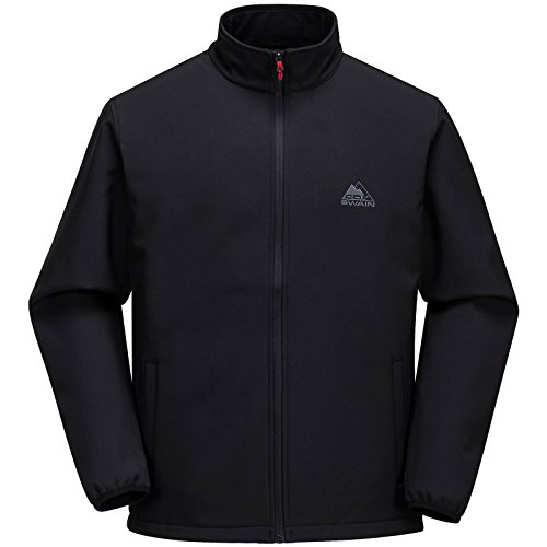 Cox Swain Herren Softshell Jacke Charly - hoher, Colour: Black, Size: M