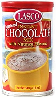 INSTANT CHOCOLATE MIX WITH NUTMEG FLAVOUR 12 OZ (1 CAN)