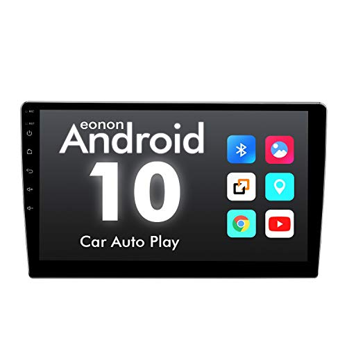 eonon GA2187 Android 10 Car Stereos 2Din 10.1' IPS Touchscreen GPS Sat Nav A7 Quad-Core 2GB RAM 16GB ROM Built-in Bluetooth Fast Boot DSP Car Play RDS FM Am (NO DVD) Visit The Eonon Store