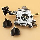 Tiempo Beixi Carburador Estrangulador Knob Kit for STIHL BR500 BR550 BR600 BR 500 550 600 Blower ZAMA C1Q-S183 C1Q S183