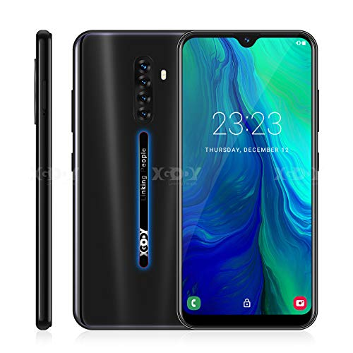 Xgody 4G LTE GSM Unlocked Smartphone 6.3inch Note 8 LTE 4G 16GB+2GB Android 9.0 Unlocked Cell Phone Smartphone 4Core