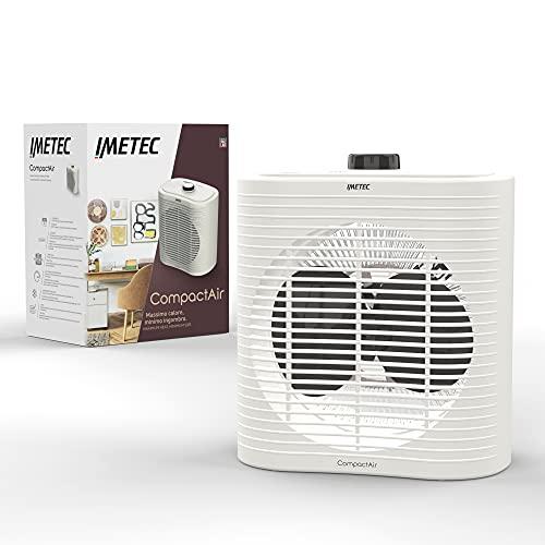 Imetec Compact Air, Termoventilatore piccolo e potente, Stufetta Elettrica, 2000 W, maniglia...
