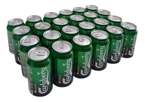 Bier Carlsberg 24x33cl (Pack 24 Dosen)