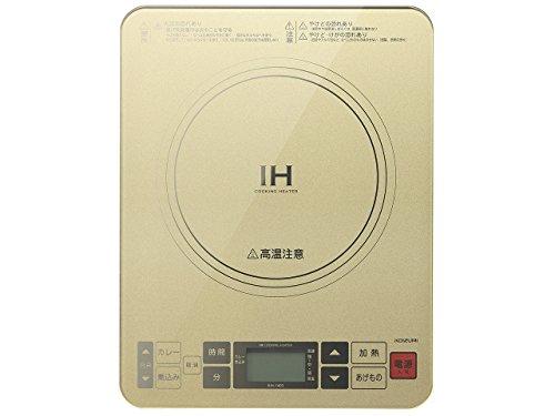 コイズミ『IHクッキングヒーター(KIH-1403/N)』