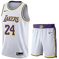 ジャージー スポーツウェア 上下 セット ロサンゼルス レイカーズ Kobe #24 バスケットボール ユニフォーム Basketball Uniform Top&Short