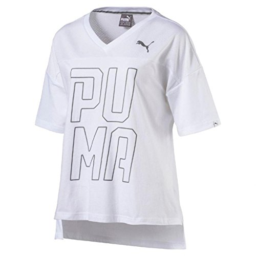PUMA Swagger tee W Camiseta, Mujer, Blanco, M