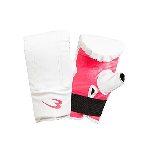 ボディメーカー(BODYMAKER) パンチンググローブ ホワイト×ピンク KG022WHPI ボクシング 格闘技 グローブ 空手 キックボクシング トレーニング 総合格闘技 フィットネス エクササイズ サンドバッグ パンチ ボクサー ボクシンググローブ