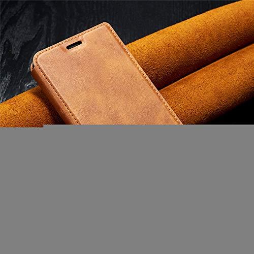 QiuKui Carcasas para xiaomi A3 9 Lite, lujo ultrafino negocios Flip caso cuero soporte cartera cubierta para Redmi Note 6 7 8T pro redmi 6A 7A 8A K20 K30