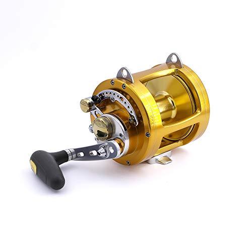 TICA Team 50 Sb, Gold Mulinello Da Pesca, Gear Ratio 3.2