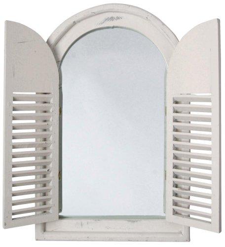 esschert Design - Miroir Porte Bois Beige