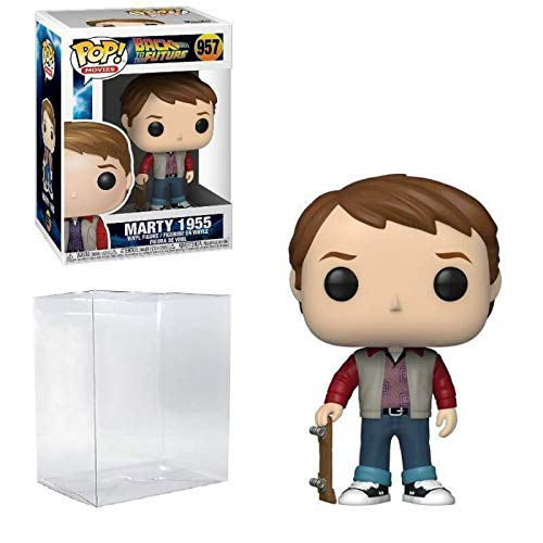 Marty McFly 1955 #957 Pop Movies: Back to The Future Vinyl Figure (Includes Ecotek Pop Box Protector...