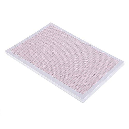 Homyl 100 Blätter Millimeterpapier Zeichenblock technisches Zeichnen Papier - A4