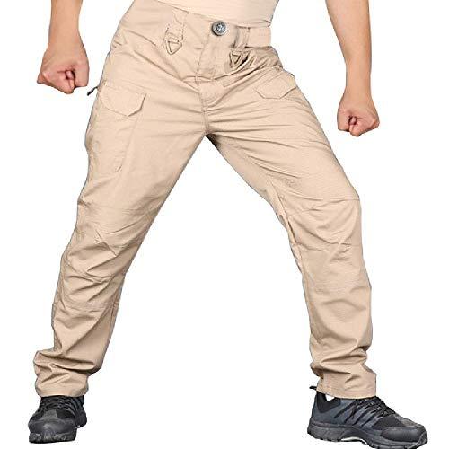 Kratzfeste wasserdichte Hosen für Camping im Freien Klettern Mode Casual Streetwear Hip Hop Herren Jogger Hosen Hose # 45
