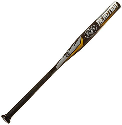 Louisville Slugger-Mazza da Softball, reazione, 28 ml, colore: nero