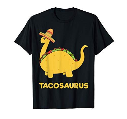 Cool & Funny Tacosaurus Taco Dinosaur Gift Tee Disfraz para Camiseta