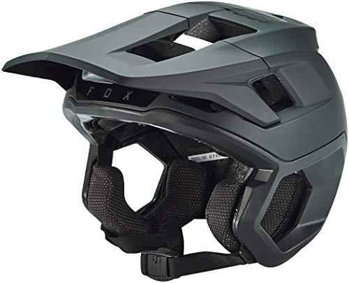 FOX Dropframe Pro Helm Herren Black Kopfumfang M | 54-56cm 2020 Fahrradhelm