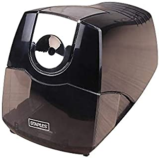 Staples 356332 Power Extreme Electric Pencil Sharpener Heavy-Duty Black (21834)
