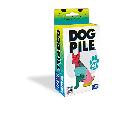 Huch & Friends 880598 Dog Pile Logikspiel, Bunt