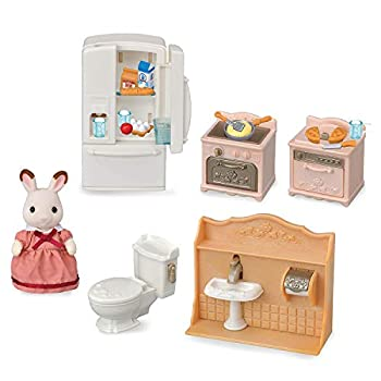 Calico Critters Playful Starter Furniture Set Toy Dollhouse Furniture and Accessories Set with Figure Included