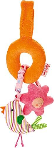 Käthe Kruse 7477874778 Im Garten Mini mobile Vogel, orange/rosa