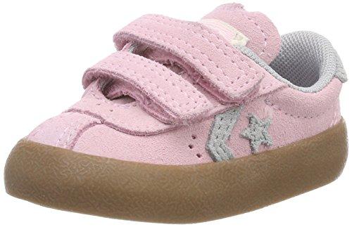 Converse Unisex-Kinder Breakpoint 2V OX Fitnessschuhe, Pink (Cherry Blossom/Wolf Grey/Gum 681), 24 EU