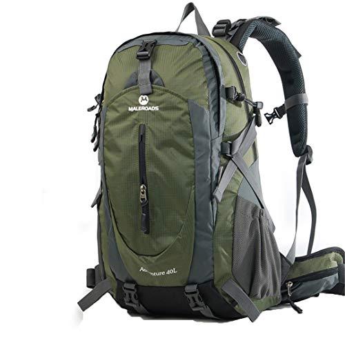 Travel 40L/50L Hiking Backpack Waterproof Climb Mountain Trekking Backpack Army Green 50L