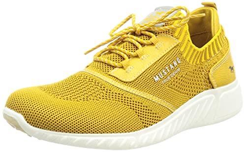 MUSTANG Damen 1315-306 Sneaker, Gelb (Ockergelb 660), 42 EU