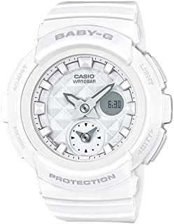 Casio Baby G Women BGA195-7A Year-Round Analog-Digital Automatic White Watch
