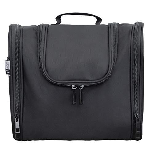 HOEL Kulturbeutel - Premium Kulturtasche zum aufhängen - Kosmetikbeutel für Herren, Damen & Kinder - Waschtasche für Männer & Frauen - Waschbeutel - Große Kosmetiktasche