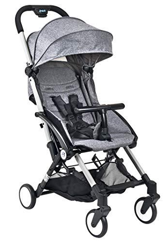 Carrinho de Bebê Up!, Burigotto, Cinza, Até 15 kg