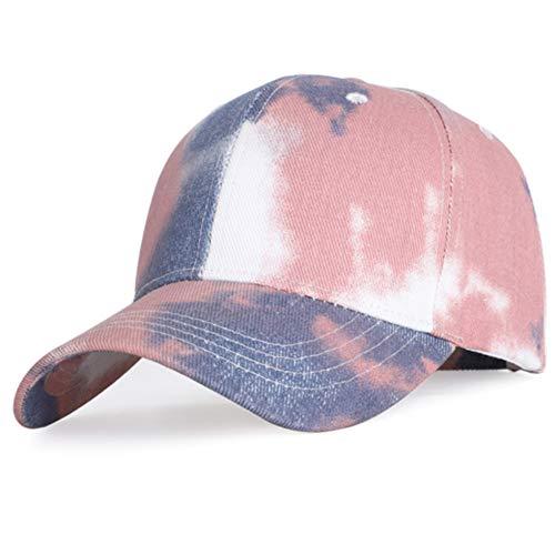 Zonnekleppen MYKK Mode Tie-dye Baseballcap Lente Heren en Dames Trend Koppel Kleurrijke hoed Buiten Verstelbare zonnehoed