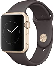 Apple Watch Sport (reacondicionado), 42 mm, Gold (Aluminum) Cocoa Sport Band