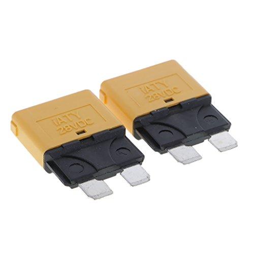 Homyl Manuelle Sicherung Schalter 12 V Schutzschalter - 20A, Grün
