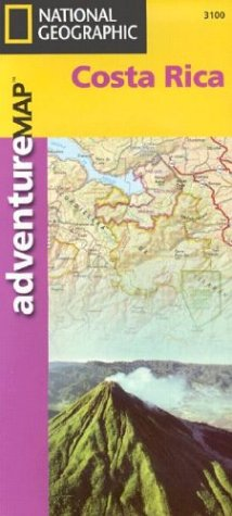 National Geographic Adventure Maps : Costa Rica (Adventure Maps S.)