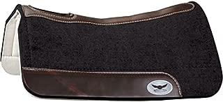 Cactus Saddlery Inc 3/4 Trevor Brazile Relentless Black Orthopedic Gel Saddle Pad