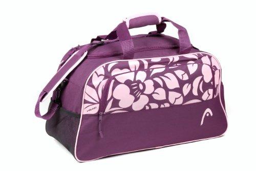 Head Orchid - Bolsa de deporte (tamaño mediano), diseño de flor, color...