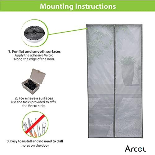 ARCOL Contrapuertas con mosquitera
