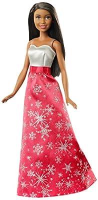 Barbie Black Hair Holiday Doll