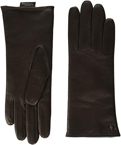 Roeckl Damen Classic Wool Handschuhe, Braun (Coffee 780), 7