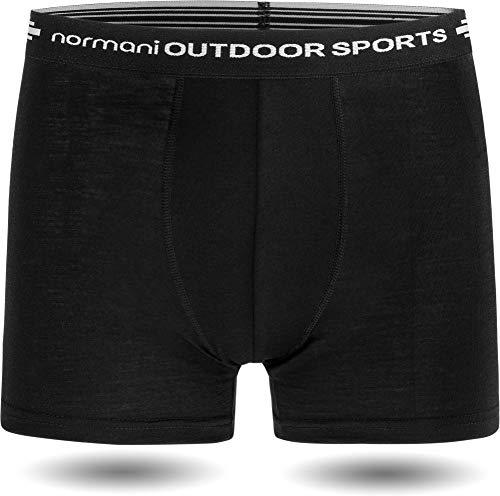 normani Herren Merino Unterhose Boxershorts Funktionsunterwäsche Sportunterhose - 100% MERINOWOOL Größe XXL