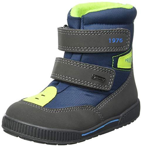 PRIMIGI Baby-Jungen PRIGT 63618 First Walker Shoe, GRIG.SC/AVIO, 19 EU
