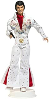 Barbie Elvis Collectible Collector Edition Doll Featuring in White Eagle Jumpsuit Timeless Treasures Elvis Presley Collection