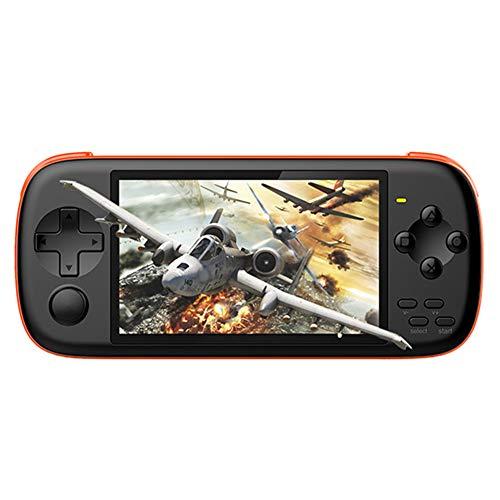 Powkiddy J6 Handheld-Spielekonsole 4,3-Zoll-IPS-Bildschirm HD Arcade Game Player