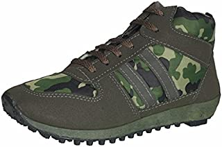 Unistar Men's Multi-Colour Trekking Shoes-10 UK (44 EU) (1002_10_CAM)