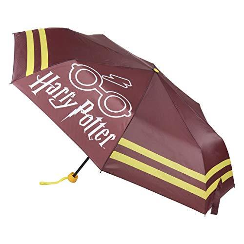 Cerdá Harry Potter 2400000491 - Paraguas plegable de color rojo