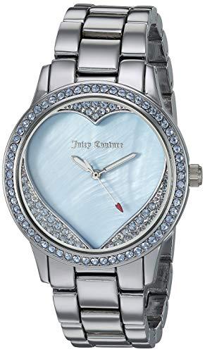 Juicy Couture Armbanduhr Uhr Damen Silber