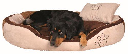 Trixie 37724 Bett Bonzo, 120 × 80 cm, beige/braun