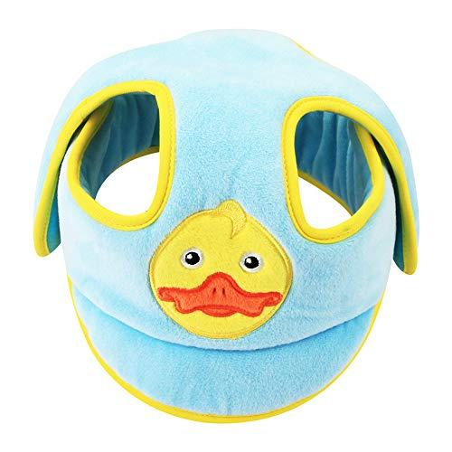 Baby-Schutzhelm, Kopfschutzhut für Kleinkinder Verstellbarer Helm Kopfschutz Schutzkappe für Kleinkinder Lerne laufen, blau
